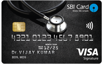 SBI Doctor Card