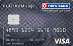 HDFC Platinum Card